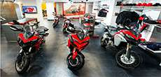 2 wheeler showroom